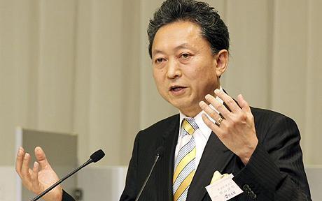 PRI Ministan Kasar Japan, Yukio Hatoyama