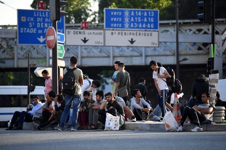 7 июля парижская полиция эвакуировала стихийный лагерь на Порт-де-ла-Шапель