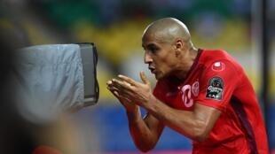 Le Tunisien Wahbi Khazri lors de la CAN 2017.