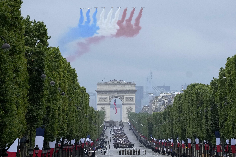 France Paris 14 juillet 2021 - Patrouiile de France AP21195323291142