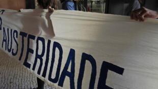 manifestation contre l'austérité à Lisbonne, le 27 juin 2013.