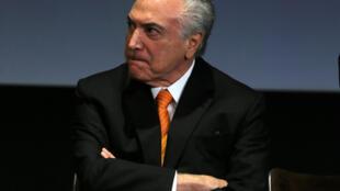 Presidente Michel Temer. 30 de Maio de 2107