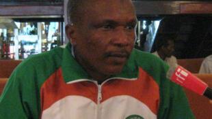 Le sélectionneur nigérien Harouna Doula.