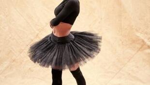 A bailarina Debora Goulart