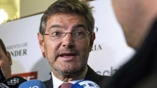 رافائل کاتالا وزیر دادگستری اسپانیا