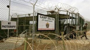 Le camp américain de Guantanamo