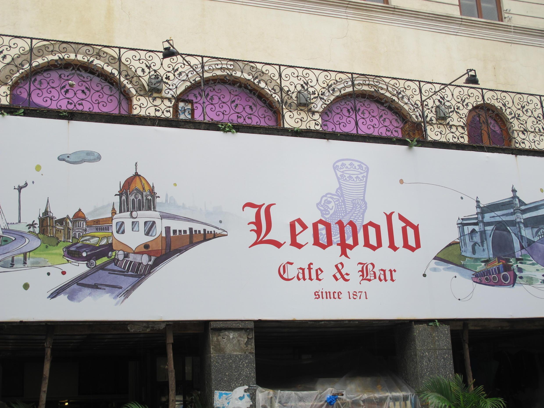 Le Leopold's Cafe à Bombay