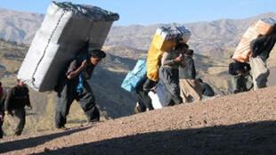کولبران در کردستان