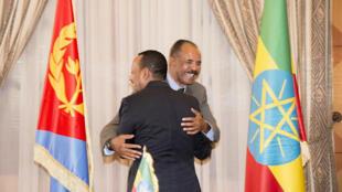 Президент Эритреи Исайяс Афеверки и премьер-министр Эфиопии Абий Ахмед подписали декларацию о мире и дружбе