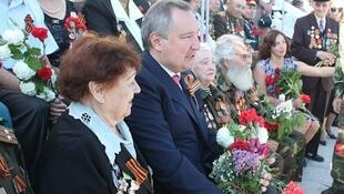 Дмитрий Рогозин на праздновании 9 мая в Тирасполе