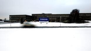 Sede da Volvo em Göteborg na Suécia.