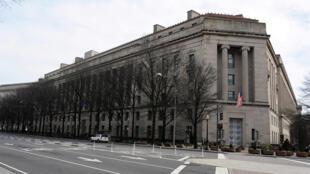 Hình minh họa : Toàn cảnh trụ sở Bộ Tư Pháp Hoa Kỳ tại Washington (chụp ngày 10/03/2019).