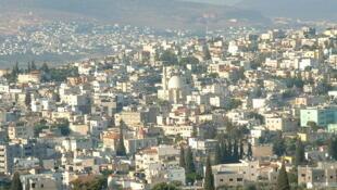 Vue de Kafr Kana, au nord d'Israël.