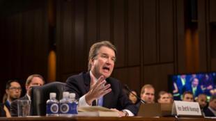 Brett Kavanaugh điều trần tại Ủy Ban Tư Pháp Thượng Viện Mỹ, Washington, ngày 06/09/2018