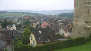 El cantón de Porrentruy, Suiza, a dos horas y media de tren de París.