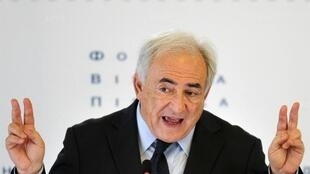"Don't say ""DSK"" - Strauss-Kahn is taking legal action over use of his initials in a dubious enterprise"