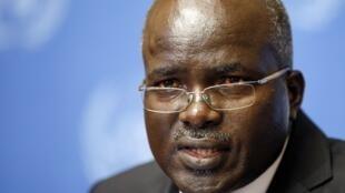 Le second vice-président du Burundi, Gervais Rufyikiri, à Genève, le 29 octobre 2012.