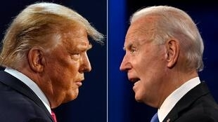 US President Donald Trump and President-elect Joe Biden; the Electoral College is set to confirm Biden's election victory, though Trump has yet to concede