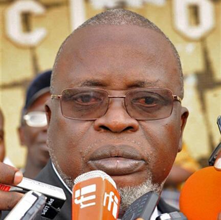 Malam Bacai Sanhá, Presidente da Guiné-Bissau presente na cimeira África-França, a 1 de junho de 2010
