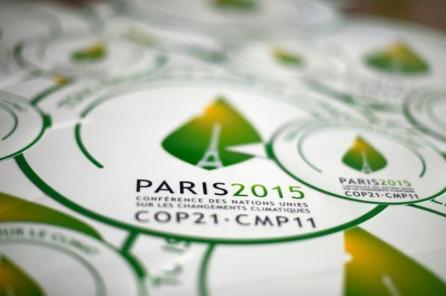Logo de la COP21 de Paris.