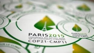 Logo of Paris's coming COP21 climate conference