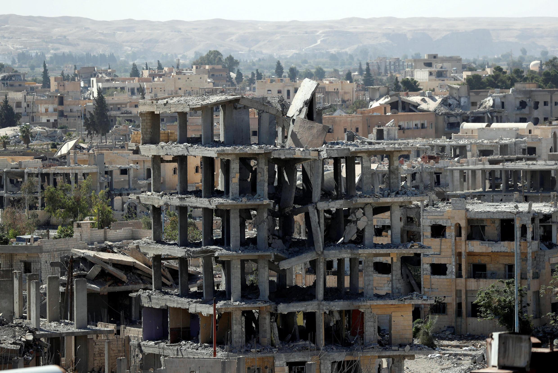 Raqqa, le 16 octobre 2017.