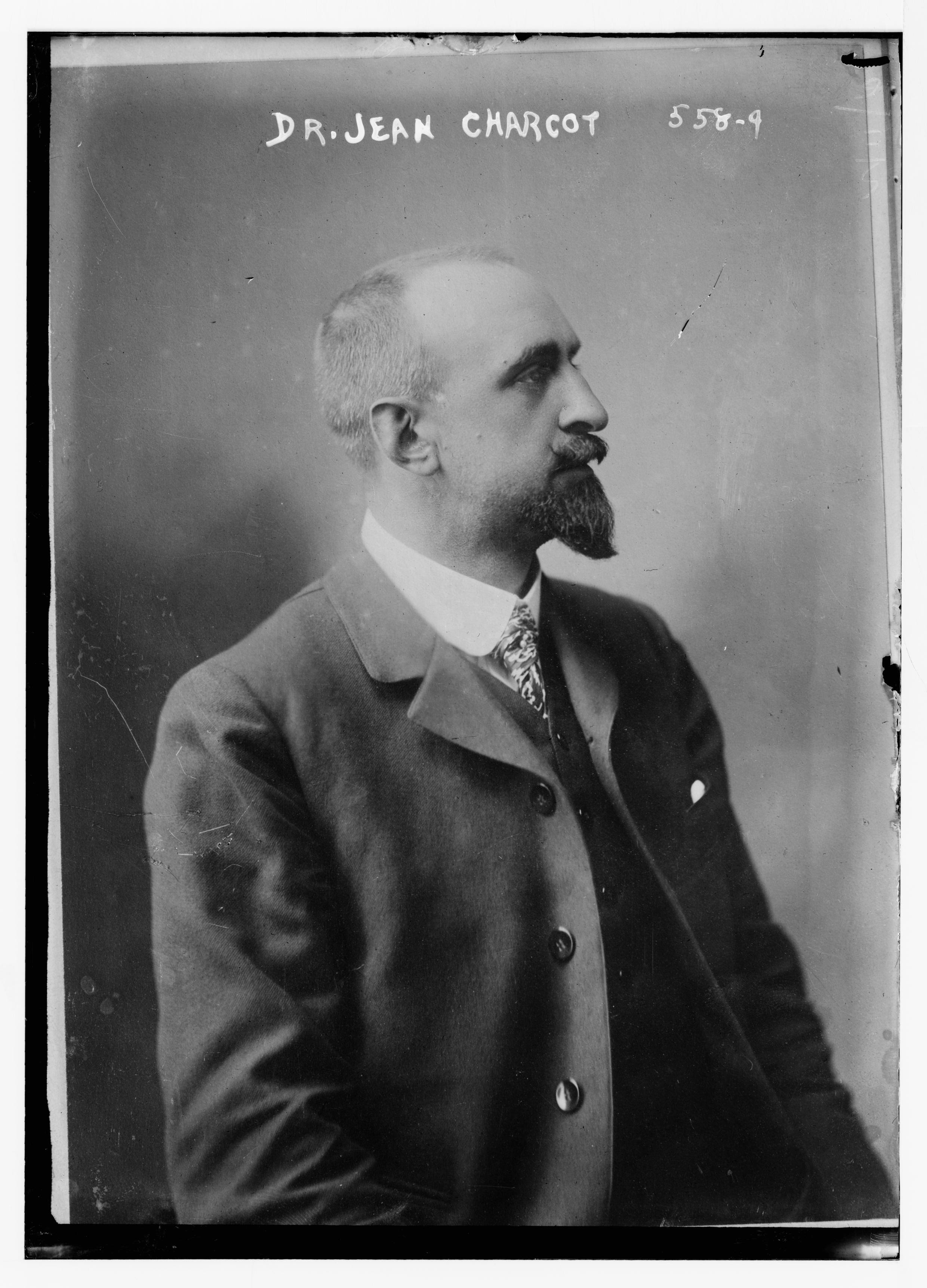 Jean Baptiste Charcot en 1900.
