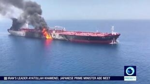 ایالات متحده آمریکا و بریتانیا، ایران را به دست داشتن در حملات روز پنجشنبه گذشته (۲۳ خرداد) به دو نفتکش نروژی و ژاپنی متهم کرد.