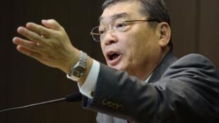 O presidente do canal NHK, Katsuto Momii.