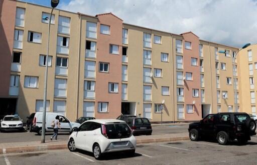 Le quartier Lupino au sud de Bastia.