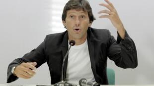 Le directeur sportif du PSG Leonardo.