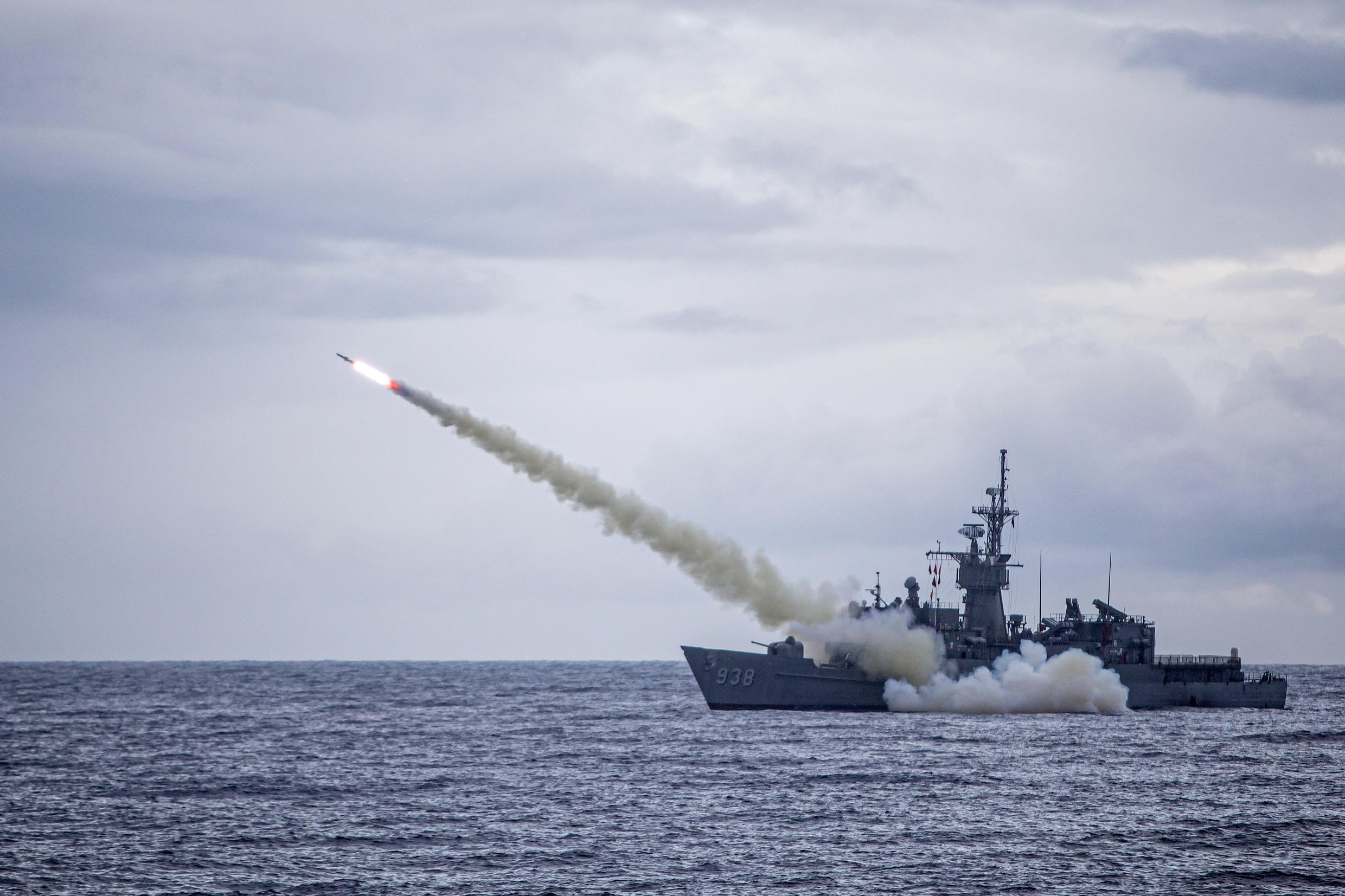 Taiwan is poised spend $2.3 billion on 400 ground-launched Harpoon missiles and related systems. (Navy)