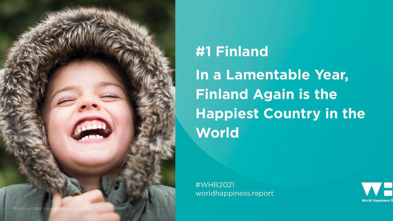 Em um ano lamentável, a Finlândia é novamente o país mais feliz do mundo.