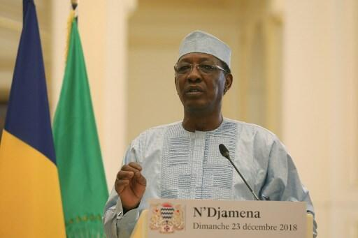 File photo of Chadian President Idriss Déby