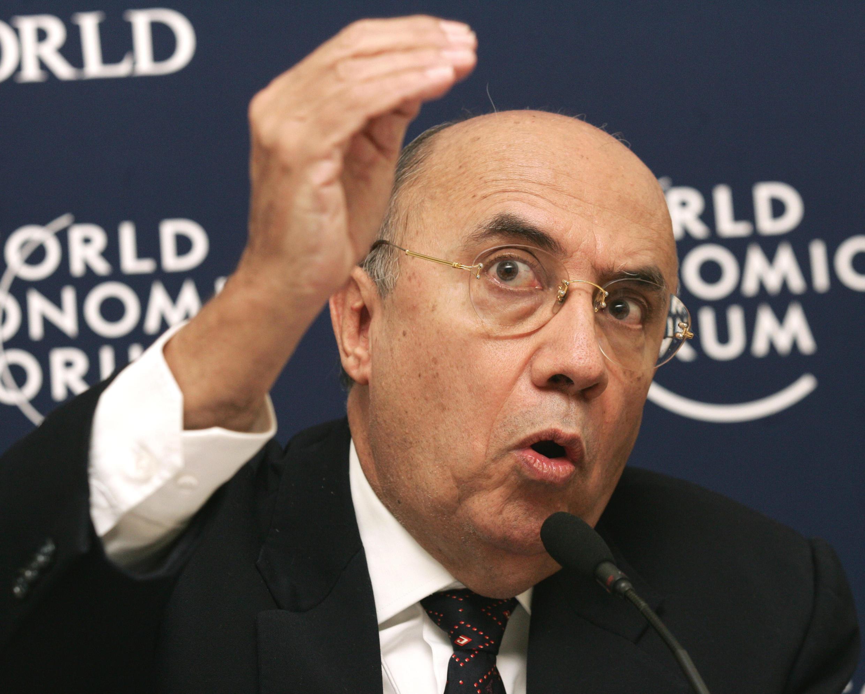 O ministro da Fazenda, Henrique Meirelles, afirmou, nesta terça-feira, em Davos que que há expectativa positiva sobre o Brasil. Foto ilustração 28/ 01/2005