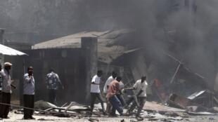 After the Mogadishu blast