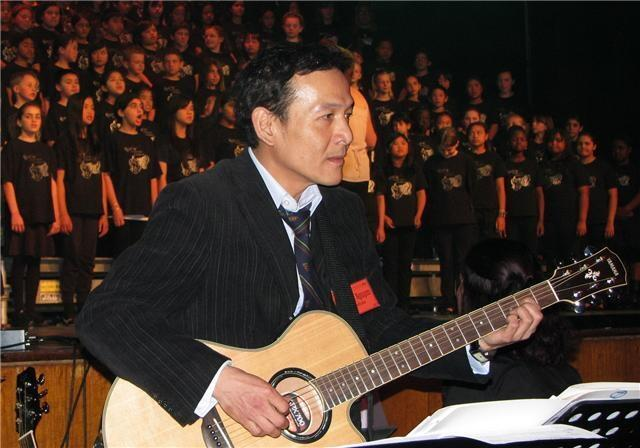 Nhạc sĩ Nguyễn Lê Tuyên.