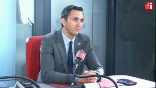 Julien Aubert, député, secrétaire général adjoint des Républicains.