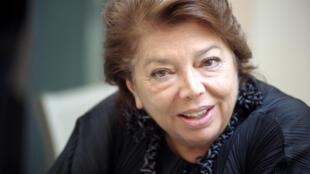 Leïla Shahid a annoncé qu'elle prenait sa retraite, après avoir représenté la Palestine en Europe, durant un quart de siècle. Ici, à Ajaccio, le 6 novembre 2010.