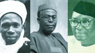 Tafawa Balewa da Awolowo da Nnamdi Azikwe tsoffin Shugabannin Najeriya a Jamhuriyyar ta Farko