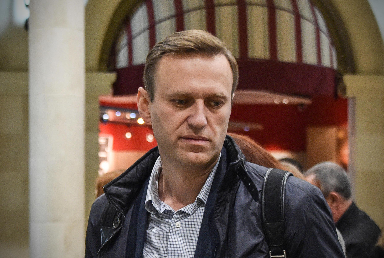 Nhà đối lập Nga, Alexei Navalny. Ảnh ngày 22/10/2017.