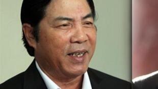 Ông Nguyễn Bá Thanh, trưởng ban Nội chính trung ương.