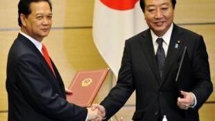 Việt Nam và Nhật Bản ký kết hợp tác năng lượng hạt nhân. Ảnh chụp ngày 31/10/2011.