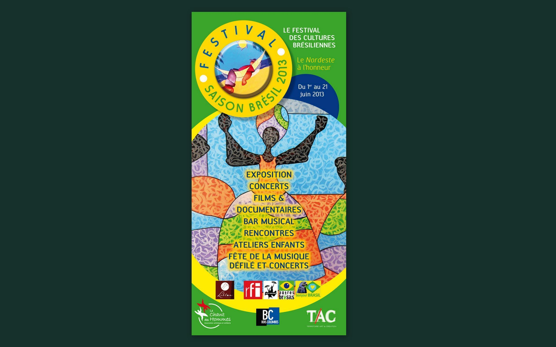 O festival Saison Brésil 2013 acontece de 1° a 21 de junho.