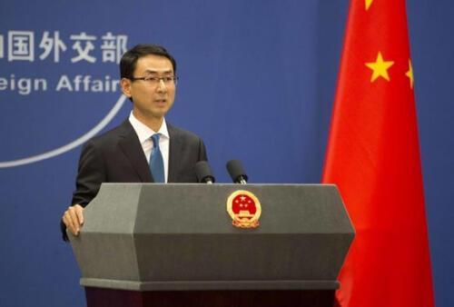 中国外交部发言人耿爽资料图片