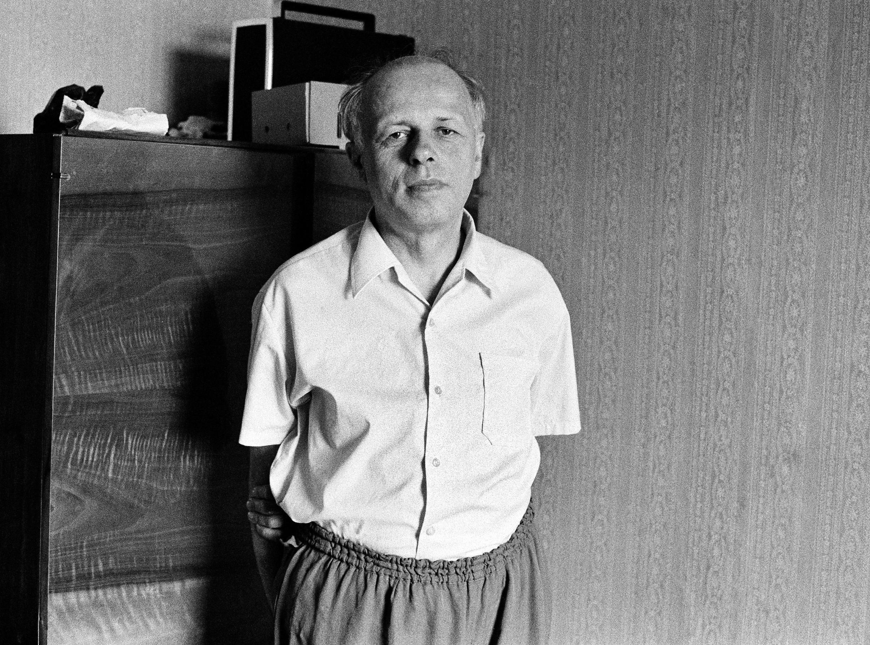 Будущий лауреат Нобелевской премии мира (1975) Андрей Дмитриевич Сахаров во время первой голодовки в поддержку политзаключенных, 30 июня 1974 г.