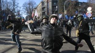 烏克蘭首都基輔的衝突