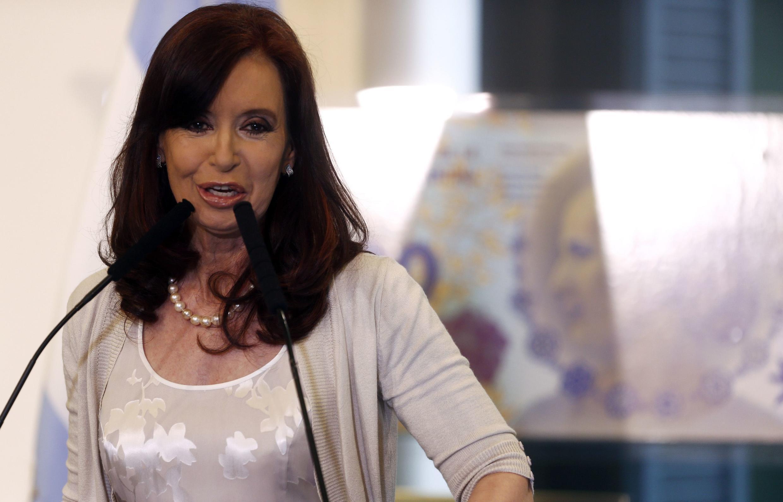 La presidenta argentina Cristina Kirchner, febrero de 2014, en Buenos Aires.
