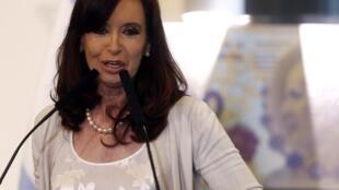 ប្រធានាធិបតីអាហ្សង់ទីន លោកស្រី Cristina Kirchner