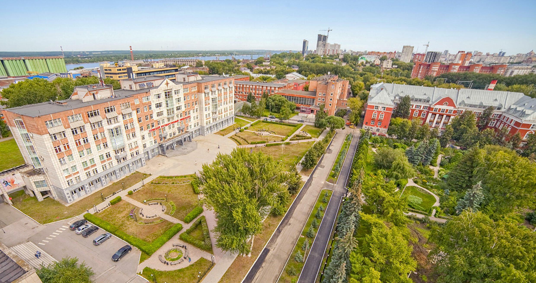 El campus de la universidad de Perm, en Rusia, en una imagen distribuida el 20 de septiembre de 2021